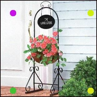 Garden Welcome Sign And Stand In 2020 Welcome Sign Home Decor