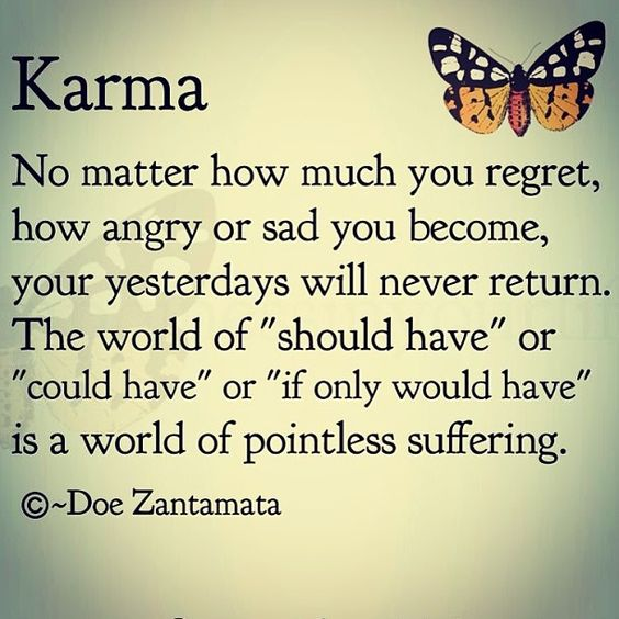 Bad Karma Quotes About Sayings