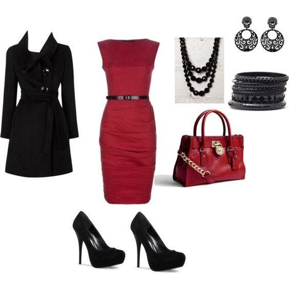 Red and Black Business, created by crownzeta