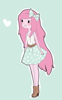 Cute Princess Bubblegum