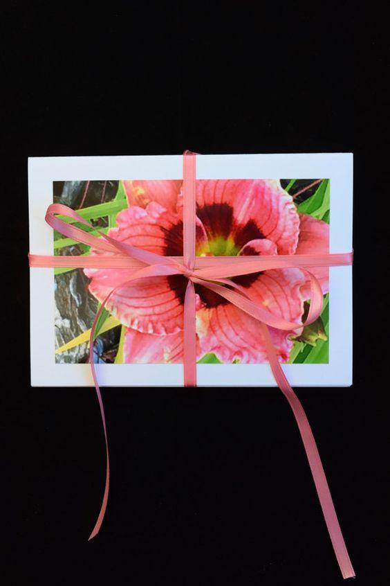 Flower Photo Cards Set of 20 Flower Variety by MitchiesGalleria