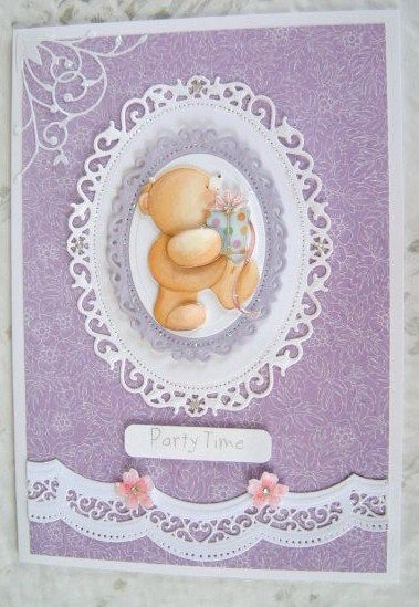 spellbinders floral ovals and A2 scalloped borders one