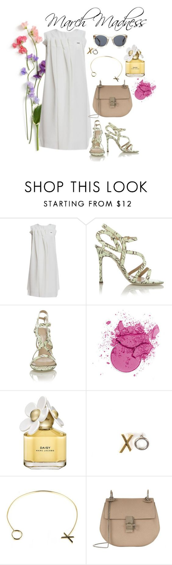 """""""March Madness"""" by wdrobe-apparel on Polyvore featuring J. JS Lee, Marc Jacobs, Finlay & Co. and Chloé"""
