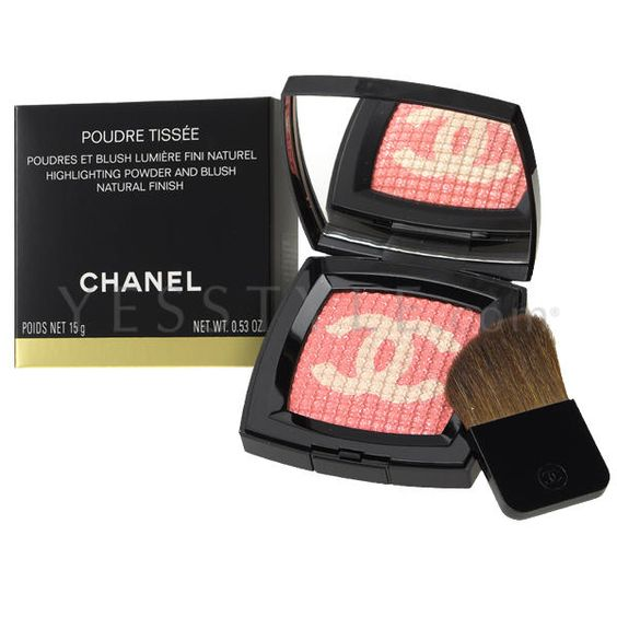 Images are for reference only. Colors on your computer monitor may differ slightly from actual product colors depending on your monitor settings.  View additional images  Chanel  Highlighting Powder and Blush (Limited Edition)