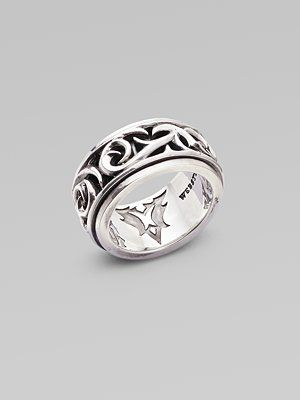 Stephen Webster Rotating Silver Ring At The Little Diamond Shop