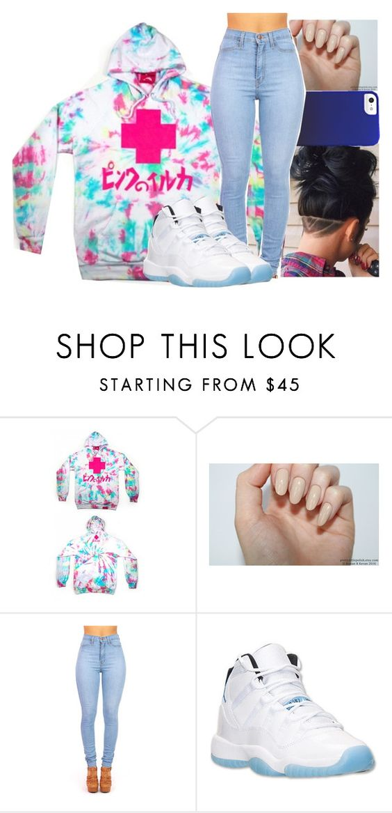 """""""Pink Dolphin"""" by kaygwuapo ❤ liked on Polyvore featuring Retrò"""