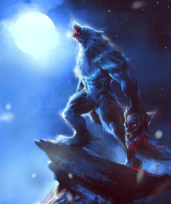 How Does A Person Become A Werewolf Werewolf Werewolf Vs Vampire Werewolf Drawing