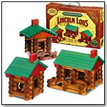 Lincoln Logs, still have some and put them out in the summer at picnic get together, the adults play more then the kids.