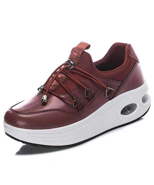 Buy womens red shape up shoe sneakers