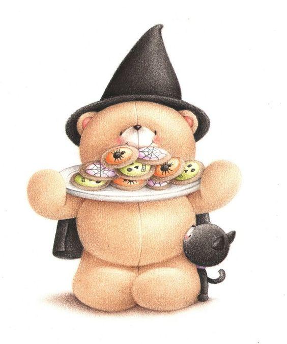 Happy Halloween! #foreverfriends #teddy #halloween: