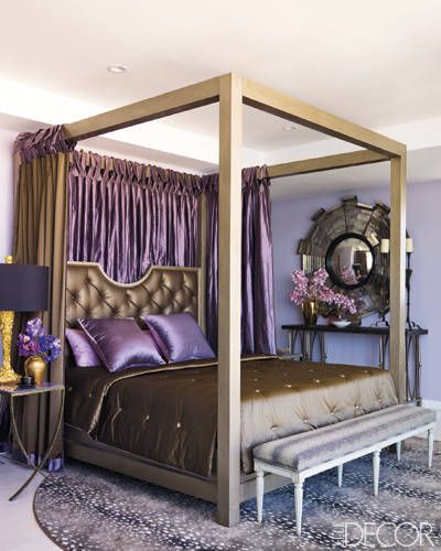 Miami makeover ralph lauren home remodeling and the wall for Elle decor beds