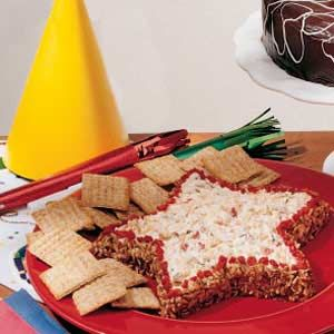 Tangy Chilli cheese spread  Can be made into any shape!