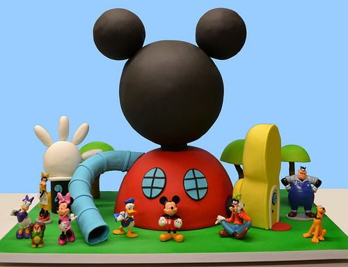 Mickey mouse clubhouse house