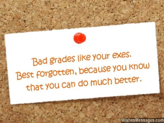 How you can explain your bad grade to financial office?
