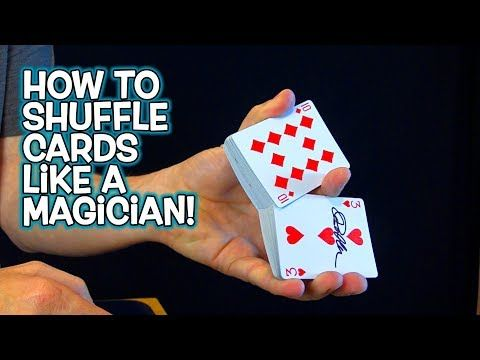 Youtube How To Shuffle Cards Card Shuffling Tricks Card Tricks