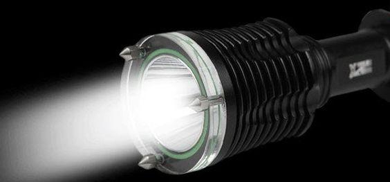 Le genre de lampe torche LED à forte autonomie
