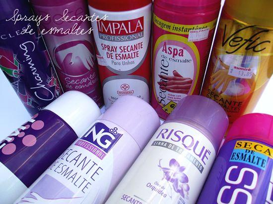 Sprays Secantes de Esmaltes