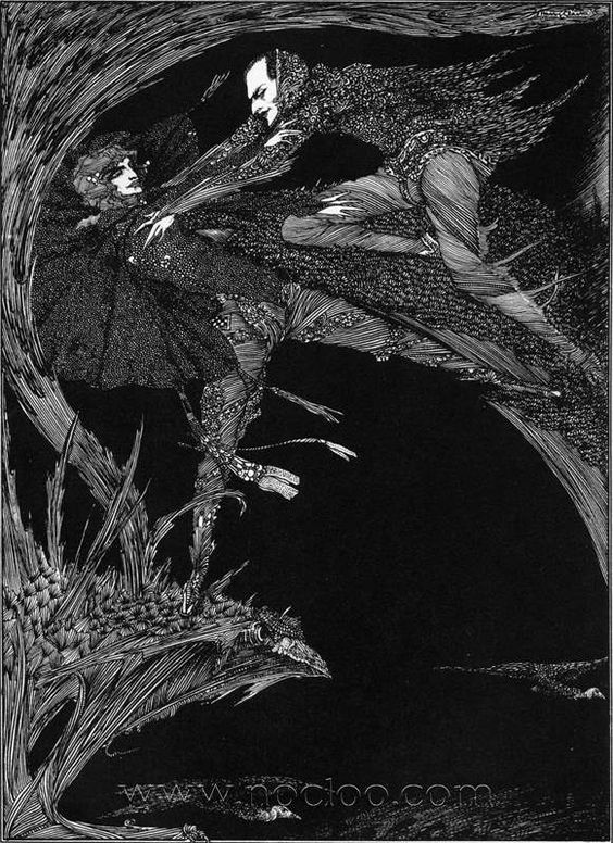 Harry Clarke - Illustrations from Faust 1925