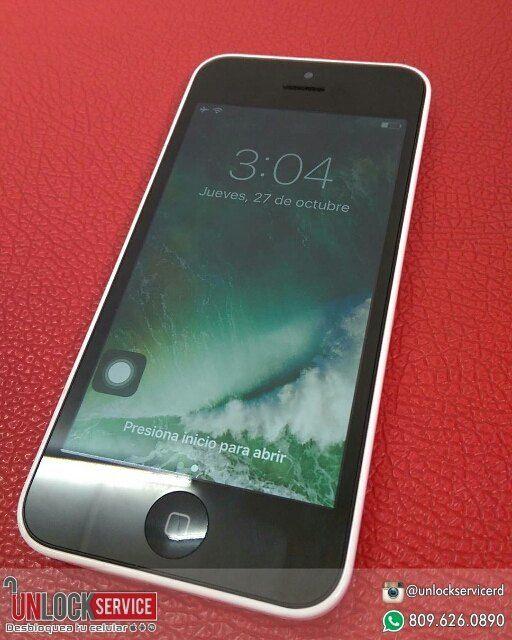 Disponible iPhone 5c blanco $6500  Incluye Accesorios Originales