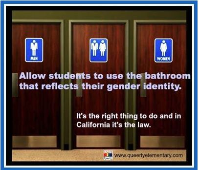 Allowing Students To Use The Bathroom That Reflects Their Gender Identity Is The Right Thing To