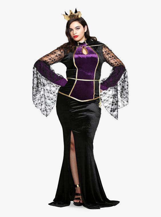 Plus Size Wicked Queen Costume Disney Classic Evil Queen Costume Dress Plus Size Costume  sc 1 st  furosemide & Plus Size Wicked Queen Costume ~ FUROSEMIDE