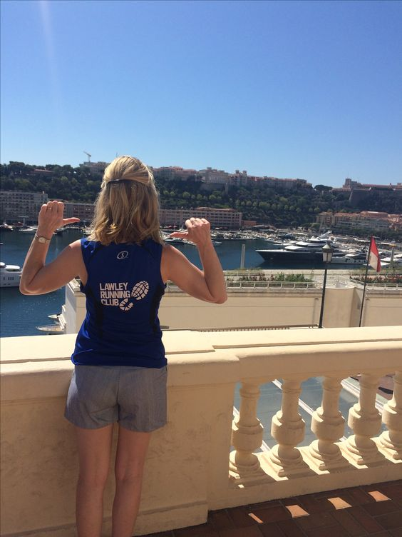 Monaco. Taking my running top on tour  August 2016
