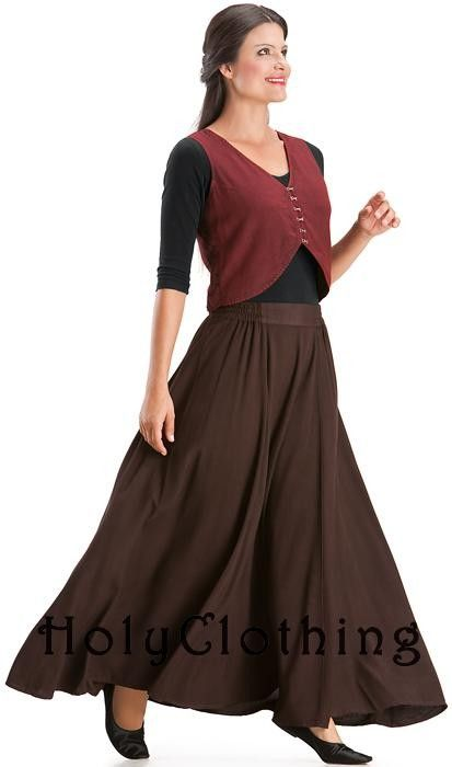 Eliza Troubadour Chic Rayon & Satin Dapper Steampunk Vest; out of stock