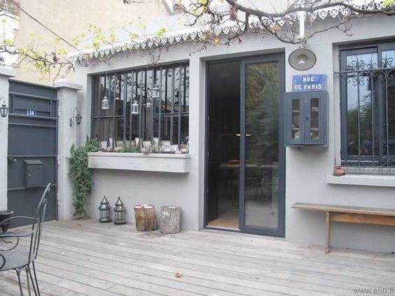 patios atelier and terrasse on pinterest. Black Bedroom Furniture Sets. Home Design Ideas
