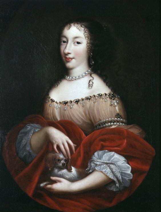 Henrietta of England, Duchesse d'Orlèans by Pierre Mignard