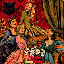 Kathy Womak  Women & Wine  12th Limited Edition print... Love this artists work!!!