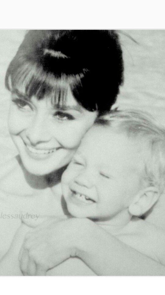 Audrey and Sean #AudreyHepburn
