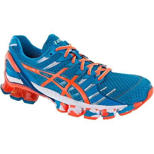 384d8f0d017f Asics Gel-kinsei 4  Asics Men s Running Shoes Island Blue white flash Orange