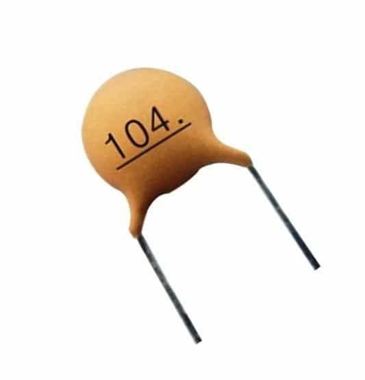 Ceramic Disc Capacitor 0 1uf Electronica