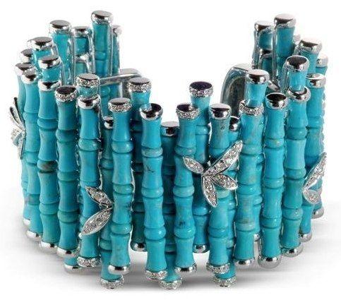 La vague bleue   Blog Kenem Bijoux – Bijoux Fantaisie, Pâte d'Argent, Pâte de Bronze, Pâte de Cuivre