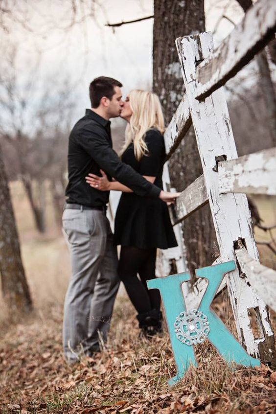 Engagement picture. PERFECT WITH THE K! except ours would be taken in the spring/summer.
