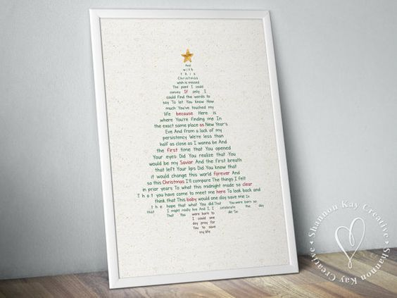 I Celebrate The Day Christmas Decor Print by shannonkay on Etsy