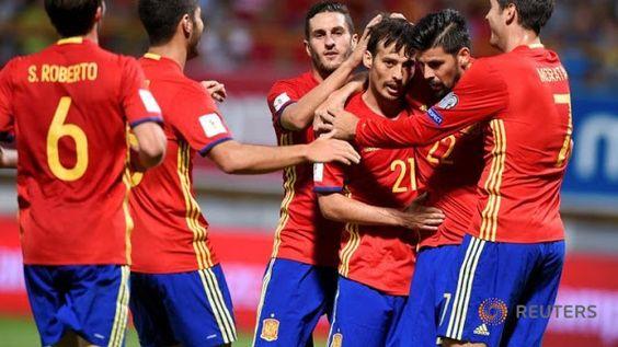 Spain  8-0  Liechtenstein - Highlights (WC Qualification 2018) Soccer Highlights 365