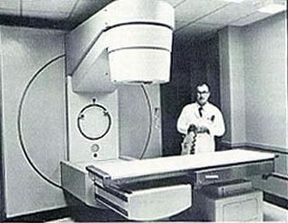 The addition of the linear accelerator makes UVa one of the better equipped radiation therapy sections in the Eastern U.S. 1970's (I'm not sure what this is, but it must have to do with radiation...or something)
