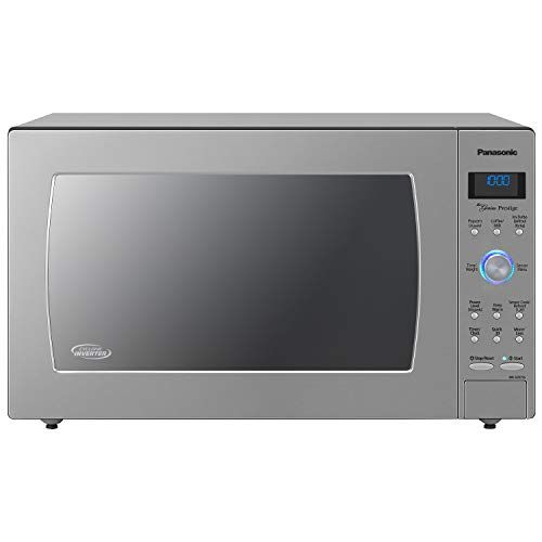 Panasonic Countertop Built In Microwave Oven With Cyclonic Wave Inverter Technology And 1 In 2020 Built In Microwave Oven Built In Microwave Panasonic Microwave Oven