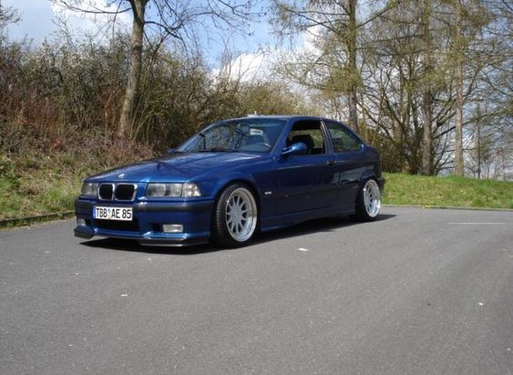 blue bmw e36 compact on hartge design c wheels bmw e36 culture album pinterest compact. Black Bedroom Furniture Sets. Home Design Ideas