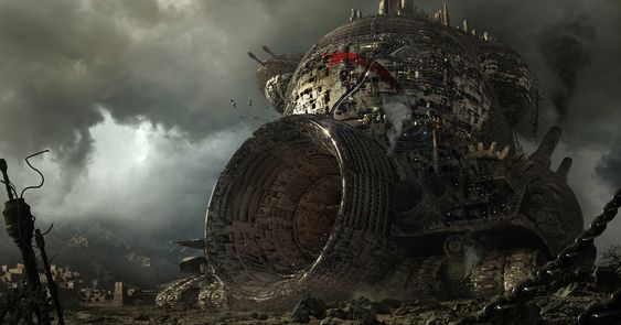 Mortal Engines by Aziz Maaqoul