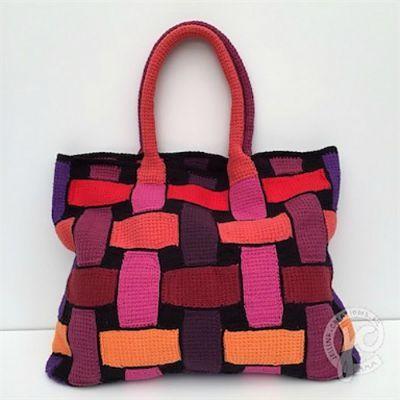 10 Free Tunisian Crochet Patterns-Celtic Inspired Bag ...