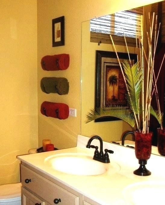 Red And Brown Home Decor Yellow And Brown Bathroom Ideas Yellow And Red Bathroom 1000 In 2020 Bathroom Red Brown Bathroom Decor Brown Home Decor