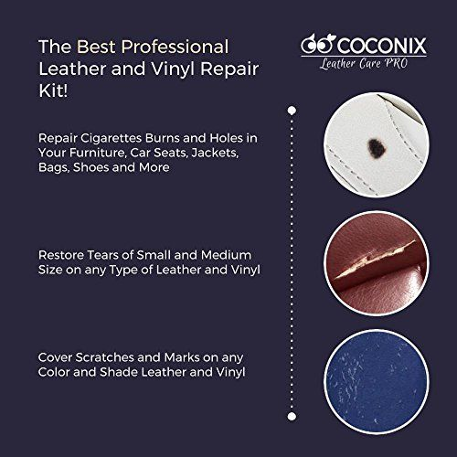 Top 10 Leather Sofa Repair Kit Of 2020 Chair Repair Vinyl Repair Leather Chair