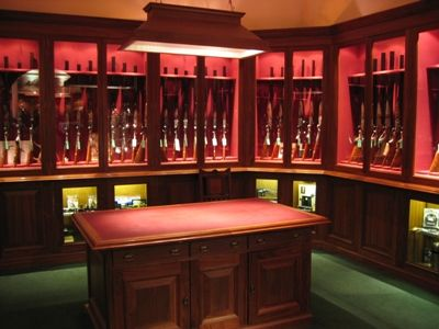 Gun room fine gun room pinterest walk in chris for Walk in gun room
