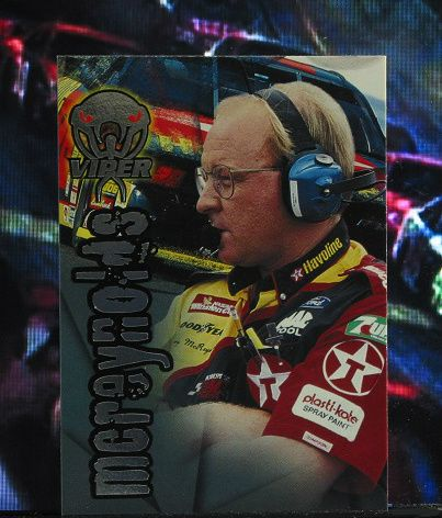 http://nascarniche.blogspot.com/  Larry McReynolds Crew Chief 1996 Wheels Viper Trading Card #30 Base Set Nascar