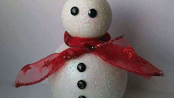 How To Create A Glittered Snowman - DIY Crafts Tutorial - Guidecentral