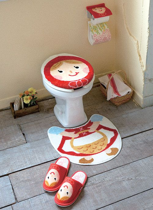 little red riding hood toilet