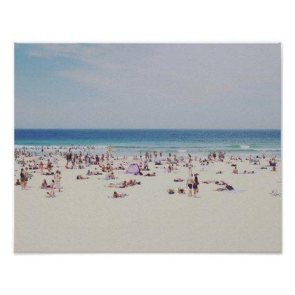 Bondi Beach Poster Photography Picture Cyo Special Diy Beach