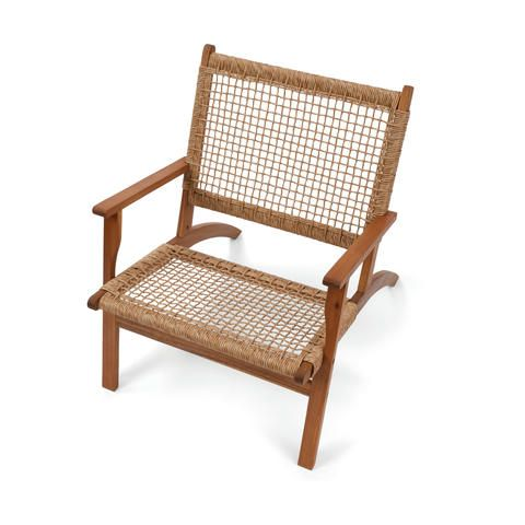 Timber Occasional Chair Kmart Small Balcony Design